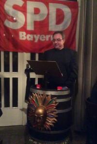 SPD-Ortsvereinsvorsitzender Richard Oettinger aus Wörth