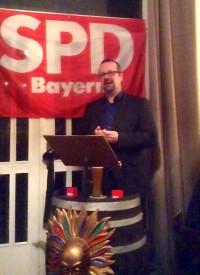 SPD-Kreisvorsitzender Thorsten Meyerer