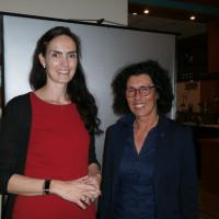 Dr. Carolin Rüger und Helga Raab-Wasse