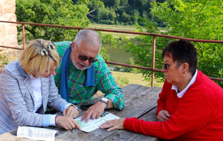 Martina Fehlner, Werner Wolf und Anni Wolf